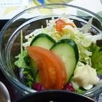 お食事処 美里 - サラダ