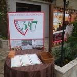 Pizzeria347 - お店の入り口