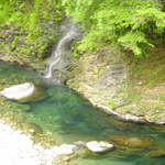 19293309 - 天川村の川はエメラルドグリーン