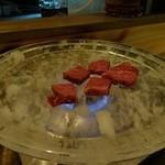 勝又 - 水晶板で焼いてます!