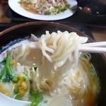 まわたり食堂 - ポタージュ ラーメン 550円