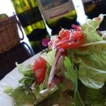アモーレ・ナオミ - ランチのサラダ