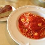 ZUCCA - 特製トマトソースとモッツァレラチーズ