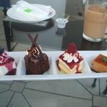 HONEY'S GALLERY CAFE - スイーツテイスティング