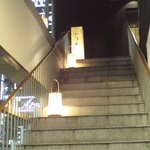 1930246 - 階段を上がるアプローチ