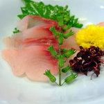 うなぎ・ふぐ・すっぽん・ゆば懐石 藤はら - 料理写真:鯉の洗い:(蒲焼定食:2,310円)