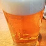 まるさ水産 - 生ビール