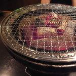298nky - 熱々の炭焼き