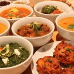 ティランガ スパイス - 料理写真:カレー各種