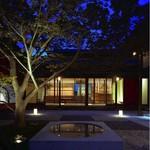 櫓庵治 - 外観写真:それぞれの部屋からながめられるもみじの庭