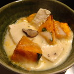 ナチュラルレストラン&デリ みどりえ - カボチャと豆腐のグラタン