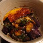 ナチュラルレストラン&デリ みどりえ - 茄子と山芋の中華味噌和え