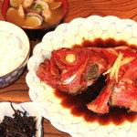 きむら - 料理写真:きんめ煮付け定食 2,250円