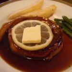レストラン五明館 - ビフテキのアップ