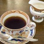 レストラン五明館 - ビフテキ定食のコーヒー