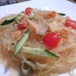 焼肉ハウスリン - 美味しい! 冷麺サラダ