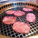 焼肉ハウスリン - 焼きはロースター式 牛タン美味しい♪