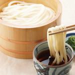 金比羅製麺 - 釜揚げうどん(温)  並280円 中380円 大480円