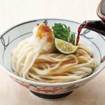 金比羅製麺 - おろし醤油うどん(冷) 並330円 大430円