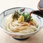 金比羅製麺 - ぶっかけうどん(温・冷) 並280円 大380円 ちょっと230円(置いていない店舗あり)