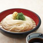 金比羅製麺 - ざるうどん(冷) 並280円 大380円 ちょっと230円(置いていない店舗あり)