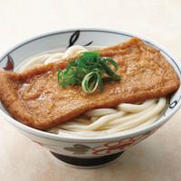 金比羅製麺 - きつねうどん(温) 並390円 大490円