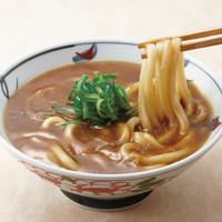 金比羅製麺 - 抜群にスパイシー! カレーうどん(温) 並390円 大490円