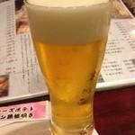 まんまる - 生ビール