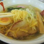 武蔵坊 弁慶 - 麺揚げ
