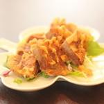 タケル カフェ - 豚肉のジューシー揚げ