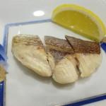 鉄板焼 南々西 - 焼き魚