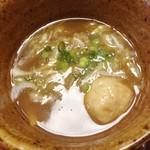 麺屋 桜木 - つけ麺デザートセット 2013年6月