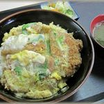 八木茶屋 - カツ丼