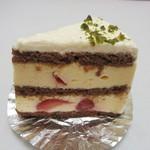 遊遊 - 苺のケーキ