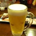 やきとん すずき - ビールお替り~