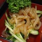 豚麺 - スペシャルランチ(くらげ)