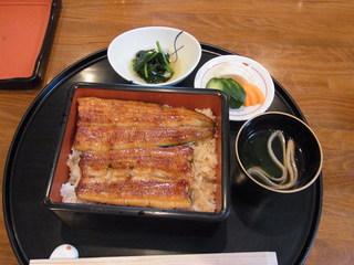 青やぎ - 2013.6.3)うな重(2625円)