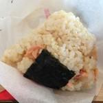 だるまだるま - おにぎり鮭(玄米)
