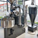 ブルックスショップアンドカフェ - 焙煎機