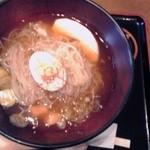 山猫軒 - そば冷麺:750円(税込)【2012年11月撮影】