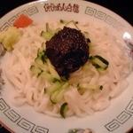 白龍 カワトク分店 - じゃじゃ麺(小):400円(税込)【2013年4月撮影】