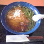 道の駅 紫波 レストラン果里ん亭 - ぎゅう麺:680円(税込)【2013年4月撮影】