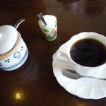 Ainateichao - 食後のコーヒー(ホイップクリーム付)