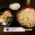 更科 - 更科 @佐野 肉汁せいろうどん 780円
