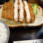 とんかつ杉 - ジャンボとんかつ定食