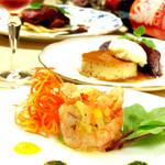 ユニコーン - 季節の食材でコース料理も充実。