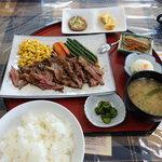 樽まえ - 牛ステーキ定食