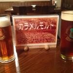 マイン・シュロス - 今月はカラメルモルトビールがあります。