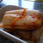 焼肉ハウスリン - キムチ