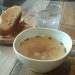 カフェゴーサンブランチ - スープ&バケット♪*